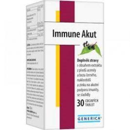 GENERICA Immune Akut 30 cucavých tablet