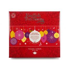 ENGLISH TEA SHOP vánoční čaj Červené ozdoby BIO 96 nálevových sáčků