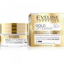 EVELINE Gold Lift Expert denní a noční krém 50+ 50 ml