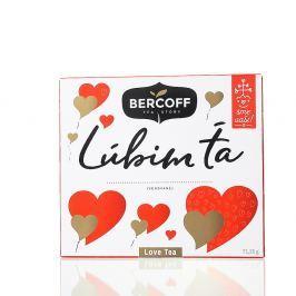 BERCOFF KLEMBER kolekce ovocných čajů Ľúbim Ťa 71,25 g