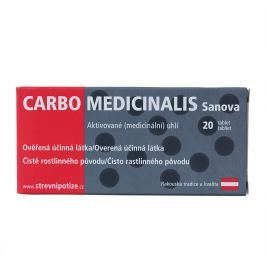 CARBO Medicinalis Sanova 20 tablet