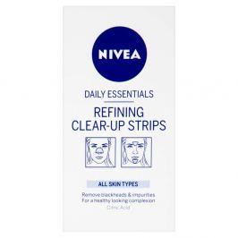 NIVEA Visage čistící pleťové náplasti nos brada čelo 8 kusů