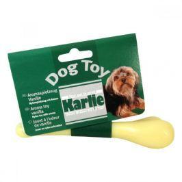 Hračka pes Kost dentální Vanilková 15cm KAR 1ks