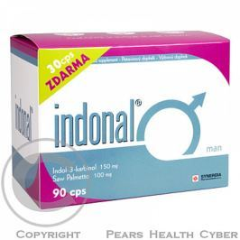 Indonal Man 60+30 tbl. zdarma