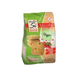 NUTRIFREE Veganské sušenky s brusinkami bez lepku 250 g
