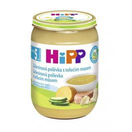 HIPP POLÉVKY BIO Zeleninová s telecím 190 g