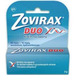 ZOVIRAX Duo Krém na opary 2 g