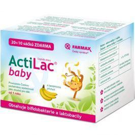 ACTILAC Baby banánová příchuť 20+10 sáčků