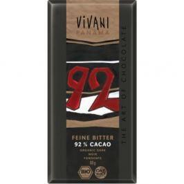 Vivani Edizione Grande hořká čokoláda 92 % Bio 80 g