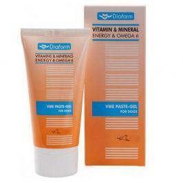 DIAFARM Taurin pes Vitamin & Mineral Energy Pasta + Omega 6 + Taurin pro psy 100 g