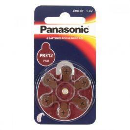 PANASONIC Baterie do naslouchadel PR-312L(41)/6LB Panasonic