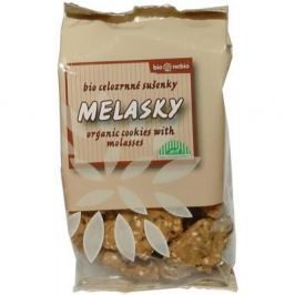 Melasky - celozrnné sušenky 130g- BIO