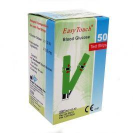 Proužky EasyTouch - glukóza 50 kusů