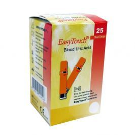Proužky EasyTouch - kyselina močová 25 kusů