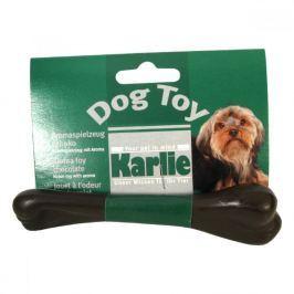 Hračka pes Kost dentální Čokoládová 13cm KAR 1ks