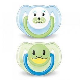 Avent Šidítko Zvířátko 6 - 18 měsíců bez BPA 2ks