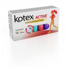 KOTEX Tampony Active Normal 16 ks