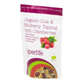 SUPERLIFE Mix semínek s klikvou 200 g