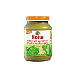HOLLE Baby Bio Zeleninová přesnídávka Brokolice s celozrnnou rýží 190 g