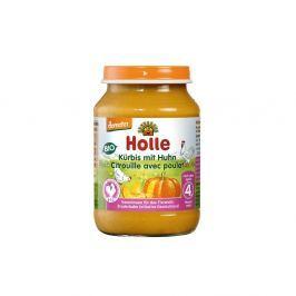 HOLLE Baby BIO Přesnídávka dýně s kuřecím masem 190 g