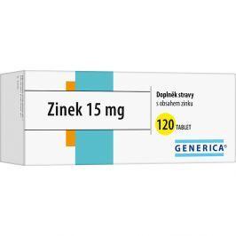 GENERICA Zinek 15 mg 120 tablet