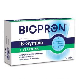 BIOPRON IB-Symbio + Vláknina 14 sáčků VÝPRODEJ exp. 30. 11. 2018