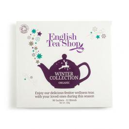 ENGLISH TEA SHOP vánoční čaj Bílá zimní kolekce BIO 96 nálevových sáčků