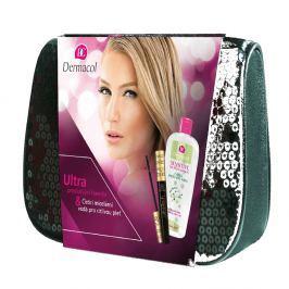 DERMACOL Ultratech mascara&Sensitive dárková kazeta Dermacol řasenka Ultratech 10 ml černá + Dermacol Sensitiv micelární voda 400 ml