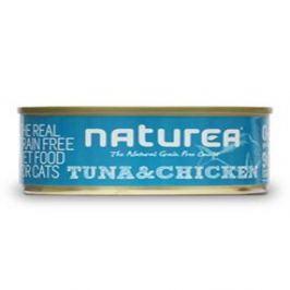 NATUREA GF cat vlhké - Tuna, Chicken 80 g