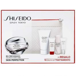 SHISEIDO sada Glow Revival Cream 50 ml+Benefiance Extra krémová čisticí pěna 30 ml+ULTIMUNE Power Infusing Concentrate 5 ml+Bio-Performance Glow Revival Serum 7 ml+Bio-Performance Glow Revival Eye Treatment 3 ml