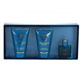 Versace Eros Toaletní voda 5ml + 25ml sprchový gel + 25ml balzám po holení
