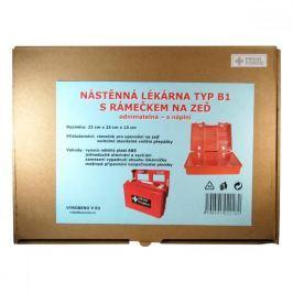 Lékárnička nástěnná odnímatelná typ B1 plast + náplň