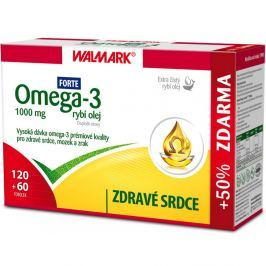 Walmark Omega 3 rybí olej FORTE 180 tablet