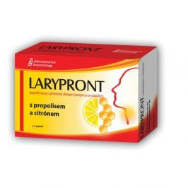 LARYPRONT s propolisem a citrónem 12 tablet