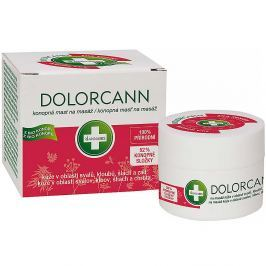 ANNABIS Dolorcann konopná mast (svaly, klouby, šlachy) 50 ml