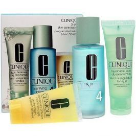 Clinique 3step Skin Care System4 50 ml Liquid Facial Soap + 100 ml Clarifying + 30 ml Dramatically