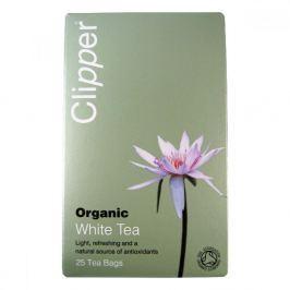 Čaj Clipper organic white tea 25 x 2 g