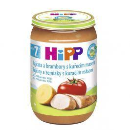 HIPP JUNIOR BIO Rajčata s bramborami a kuřetem 220 g