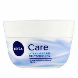 NIVEA Care Výživný krém na obličej, ruce i tělo 50 ml