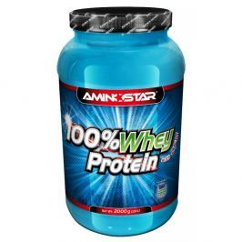 AMINOSTAR 100% Whey Protein jahoda 2000 g