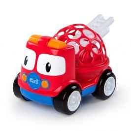BRIGHT STARTS Hračka hasičské auto Bart Oball Go Grippers™ 18m+