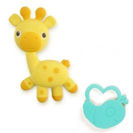 BRIGHT STARTS Kousátko žirafka+brouček Soothimals™ 0m+