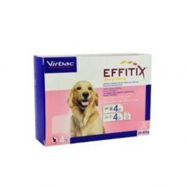 VIRBAC Effitix Spot-on pro psy L (20-40 kg) 4 pipety