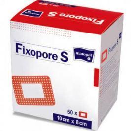 Fixopore S ovál 6.5 x 9.5 cm - sterilní náplast 50 ks