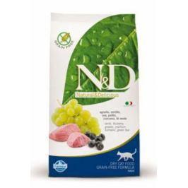 N&D CAT Adult Lamb & Blueberry 300g