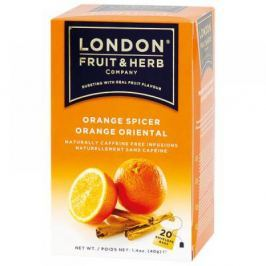 LONDON FRUIT HERB Pomeranč se skořicí 20x2 g