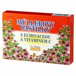 Müllerovy pastilky s echinaceou 12 ks
