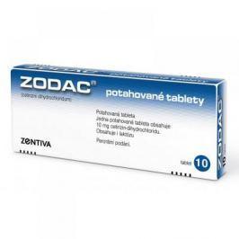 ZODAC 10X10MG Potahované tablety