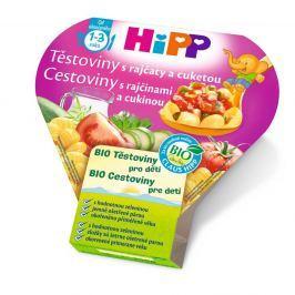 HIPP BIO DĚTSKÉ TĚSTOVINY s rajčaty a cuketou 250g CZ8640