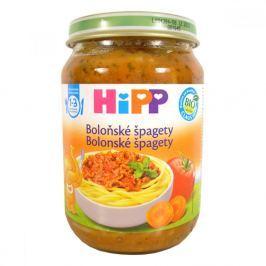 HIPP DĚSKÉ MENU BIO Špagety v boloňské omáčce 250g CZ8618